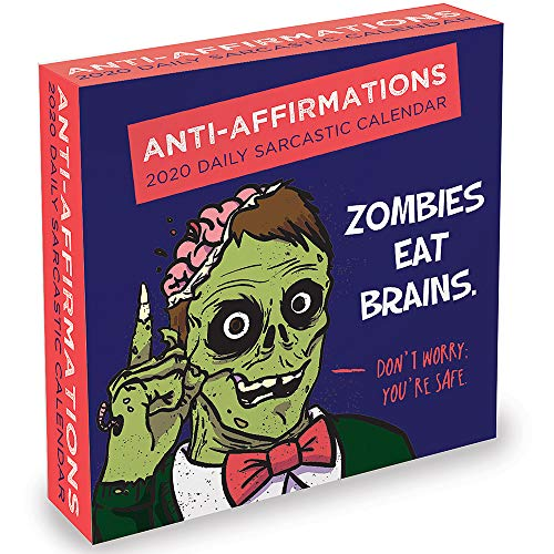 (2020 Anti-Affirmations Daily Desktop Calendar)