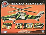 Mega Bloks Pro-Builder Collector Series Night Copter #9740