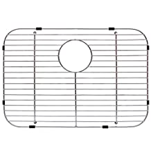 """Franke FGS75 Stainless Steel Universal Single Bowl Sink Grid with Rear Drain, 13.5"""" x 19.5"""""""