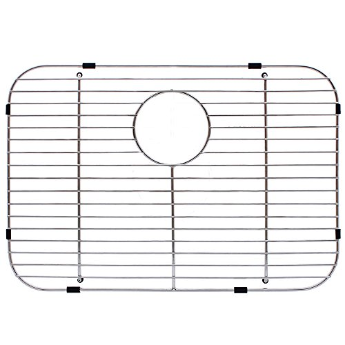 Franke FGS75 Stainless Steel Universal Single Bowl Sink Grid with Rear Drain, 13.5'' x 19.5'' by Franke