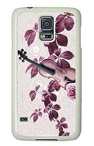 Violin Art White Hard Case Cover Skin For Samsung Galaxy S5 I9600 by icecream design