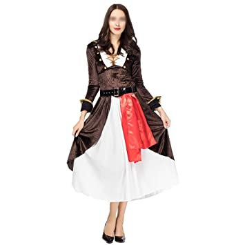 ZSRHH-Falda Vestido de Mujer Ropa de época Medieval cos Moda ...