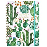 "Planner 2020 - Weekly & Monthly 2020 Planner Jan - Dec, 8.5"" x 6.4"", Flexible Hardcover, Strong Twin - Wire Binding, Thick Paper, 12 Monthly Tabs, Inner Pocket, Elastic Closure, Inspirational Quotes: more info"
