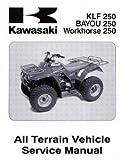99924-1284-06 2003-2008 Kawasaki KLF250-A1 Bayou ATV Service Manual