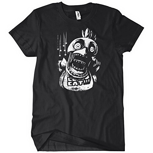 Chica FNAF T-Shirt Funny Adult Mens Cotton Tee Sizes S-5XL