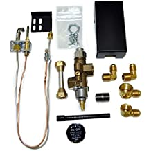 Copreci Side Inlet Safety Pilot Kit with 3-inch Swivel Quick Connect (72PKNQM), Natural Gas