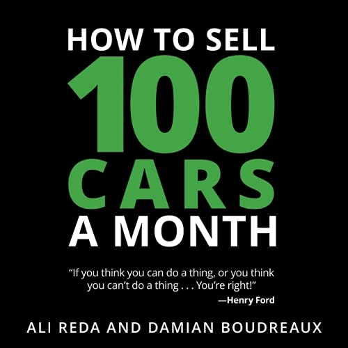 Shop online How Sell 100 Cars Month