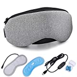BINMA Temperature Control Heating Steam Cotton Eye Mask, Soft and Soothing for Eyes (Lavender flavour)