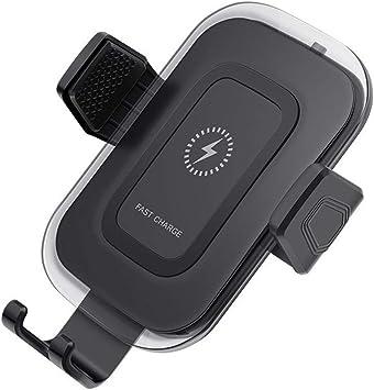 Ln-ZME Cargador Inalámbrico para el Soporte del Teléfono para Automóvil Diseño Fijo en Tres Direcciones Apariencia Elegante Multifuncional Conveniente y Portátil (B): Amazon.es: Electrónica