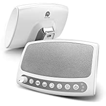Dreamegg Sound Machine, 6 Relaxing Sounds Including Fan, White Noise, Ocean, Rain, Summer Night and Lullaby, Built in USB Output & Timer