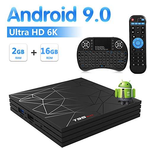 Sidiwen Android 9 0 TV Box T95 MAX Set Top Box 2GB RAM 16GB ROM Allwinner  H6 Quad Core WIFI 2 4G Ethernet USB 3 0 Support 6K 4K Ultra HD H 265