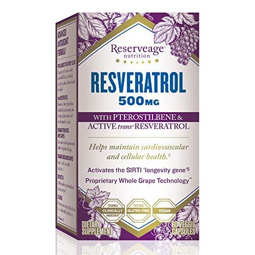 Bestselling Resveratrol Antioxidants