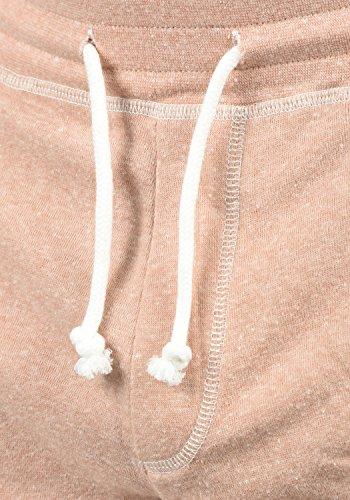 Shorts Da Pantaloni Pantaloncini Rose Mahagoni Felpa 4203m Corti Toljan Uomo Melange solid 6RpUtt