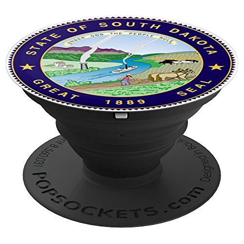Dakota Seal - Seal of South Dakota - PopSockets Grip and Stand for Phones and Tablets