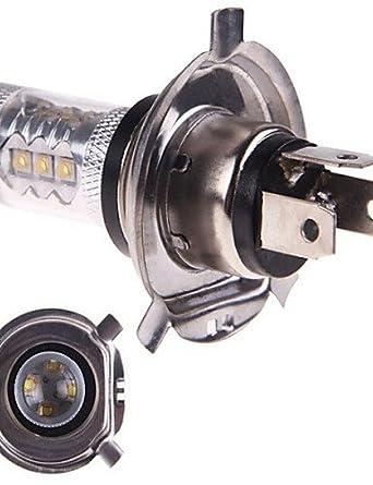 HJLHYL MNDLuces Decorativas Decorativa dingyai H4 50 W 14LED LED de Alta Potencia 1600 LM Blanco Natural DC 12 / DC 24 V 1 pieza, white-60¡ã - - Amazon.com