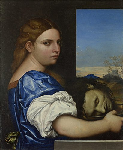 ('Sebastiano Del Piombo The Daughter Of Herodias ' Oil Painting, 10 X 12 Inch / 25 X 31 Cm ,printed On High Quality Polyster Canvas ,this Amazing Art Decorative Prints On Canvas Is Perfectly Suitalbe For Foyer Gallery Art And Home Artwork And Gifts)