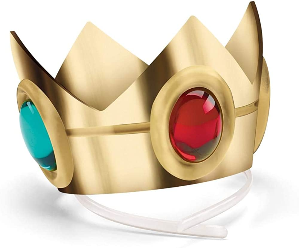 Disguise Women's Nintendo Super Mario Bros.Princess Peach Crown Costume Accessory