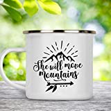 Camp Cup She Will Move Mountains Stainless Steel Mug