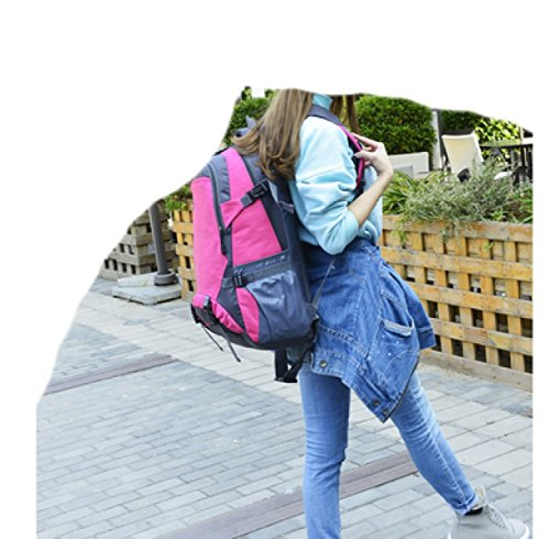 Backpack Travel Leisure Multi Mountaineering Shoulder Outdoor Blue purpose Laidaye Bag Business 57qzSqwO