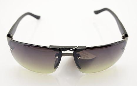 HAND 185 Stylische Unisex-Sonnenbrille mit Silbertempel Motiv - Breite bei Tempeln 132 mm - 100% UV400 Schutz - Brauner Rahmen und Linsen pBVz76ZrlP