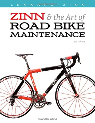 zinn the art of road bike maintenance lennard zinn todd telander rh amazon com Transit Repair Manual Bicycle Repair Clip Art