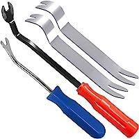 Auto Trim Removal Tools Kit Set of 4 pcs SourceTon Car Panel Dash Radio Removal Installer Stainless Steel Pry Tools Kit…