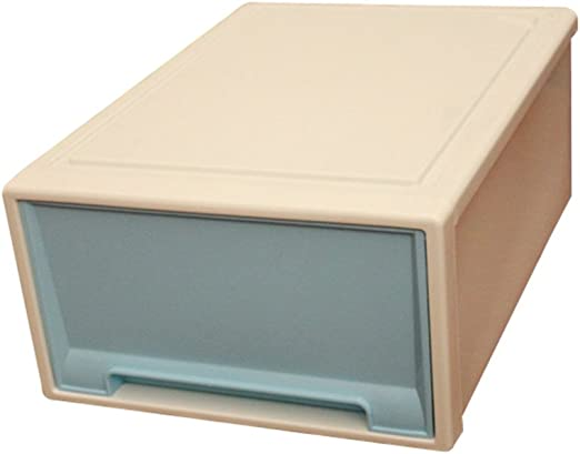 ounona caja de almacenamiento de plástico práctico cajón tipo ...