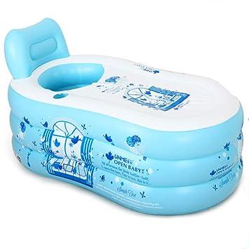 Amazon.com: Bañera hinchable, bañera para adultos, bañera ...