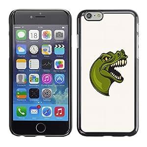 Super Stellar Slim PC Hard Case Cover Skin Armor Shell Portection // V0000678 T-rex Mascot // Apple Iphone 6 PLUS 5.5