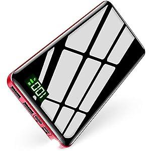 モバイルバッテリー 大容量 パススルー機能搭載 3in1入力ポート