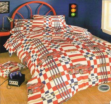 Amazon Nascar40 Dale Earnhardt Jr Twin Comforter Home Kitchen Inspiration Nascar Bedroom Furniture