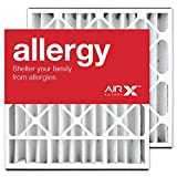 AIRx Filters Allergy 20x20x5 Air Filter MERV 11 Replacement for Skuttle 000-0448-003 000-0448-007 to Fit Media Air Cleaner Cabinet Skuttle DB-20-20, 2-Pack