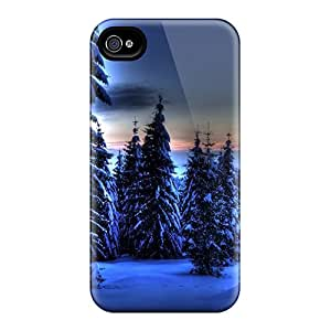 Excellent Hard Cell-phone Case For Iphone 6 With Support Your Personal Customized Realistic Blue Winter Series AaronBlanchette