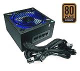 Apevia ATX-SN900W Signature 900W 80+ Bronze Certified Active PFC ATX Modular Gaming Power Supply, 3 Year Warranty