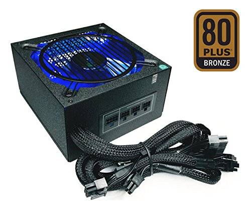 Apevia ATX-SN900W Signature 900W 80+ Bronze Certified Active PFC ATX Modular Gaming Power Supply, 3 Year Warranty by Apevia