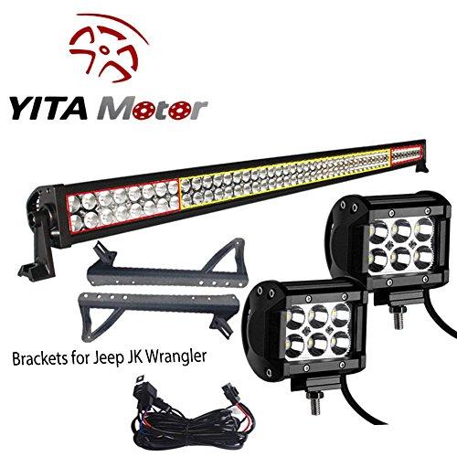yitamotor-52-inch-300w-combo-2x-18w-spot-led-light-bar-mounting-brackets-wiring-for-jeep-jk-wrangler