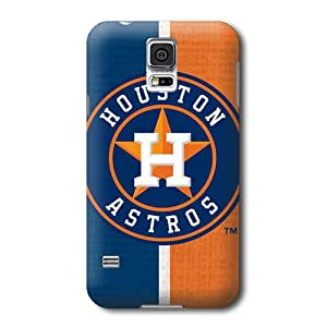 ArtPopTart S5 Case,MLB Houston Astros Pattern Samsung Galaxy S5 Covers,Durable Hard Case Covers
