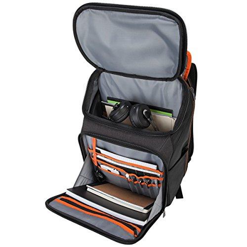 Targus CitySmart EVA Pro checkpoint-friendly Rucksack für 39,6cm Laptop, Schwarz (tsb895)