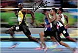 "Usain Bolt ""the Smile"" Autograph Replica Poster"