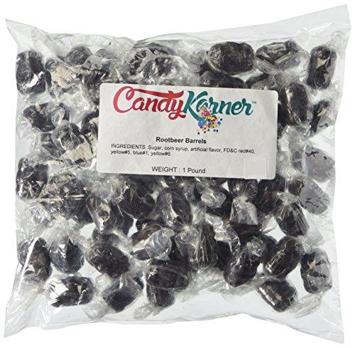 Candy Root Beer Barrels, 1 Lb. Bag