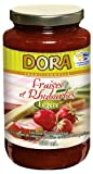 Dora Light Strawberry and Rhubarb Spread, 12-count
