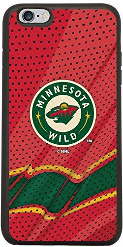 Minnesota Wild - Home Jersey Design on Black iPhone 6 Plus / 6s Plus Guardian Case