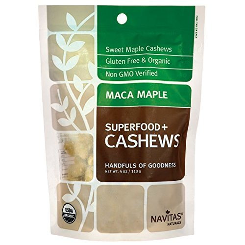 Navitas Superfood Plus Maca Maple Cashews Supplements, 4 Ounce Review