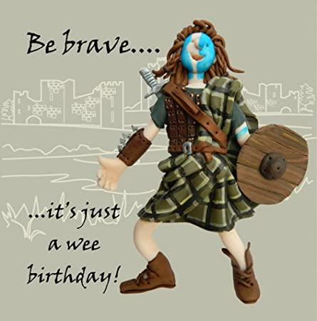 AGE GETS BETTER WITH WHISKY Male Birthday Cards Kilt ~Funny /& Quirky~FREE DEL