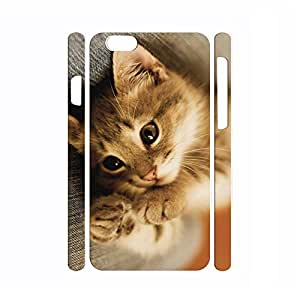 Classic Handmade Dustproof Animal Series Cat Pattern Skin for Iphone 6 Plus Case - 5.5 Inch