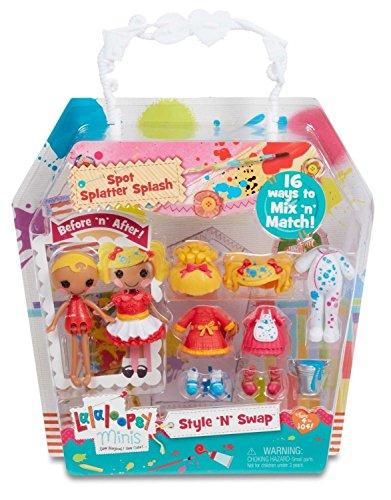 Lalaloopsy Minis Style 'N' Swap Doll- Spot Splatter Splash ()