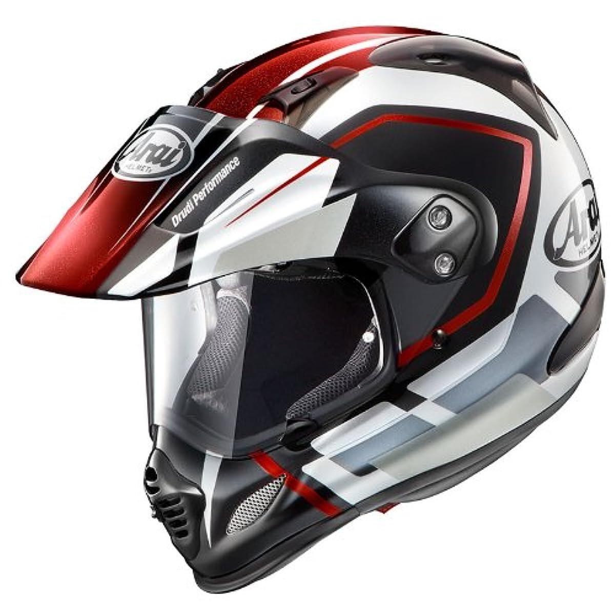 [해외] 아라이 오토바이 헬멧 오프로드 TOUR CROSS3 DETOUR RED XL 61-62CM