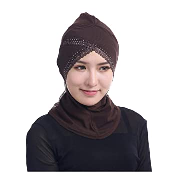 5626bd4e7e6 Amazon.com   Clearance Sale! Muslim Mini Hijab Scarf Cap for Women ...