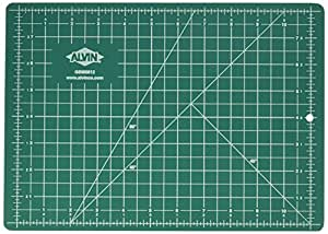 Alvin Professional Cutting Mats Green/Black Size - 12L x 8.5W inches