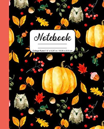 Halloween Pumpkin Prayer (Notebook College Ruled 7.5